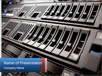 Net System PowerPoint Template - Slide 1