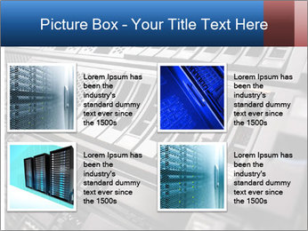 Net System PowerPoint Template - Slide 14