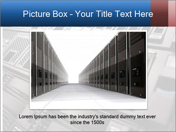 Net System PowerPoint Template - Slide 15