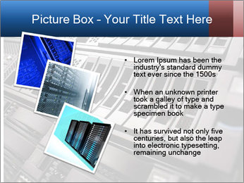 Net System PowerPoint Template - Slide 17