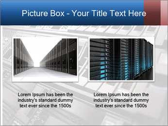 Net System PowerPoint Template - Slide 18