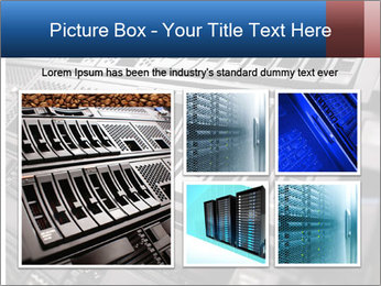 Net System PowerPoint Template - Slide 19