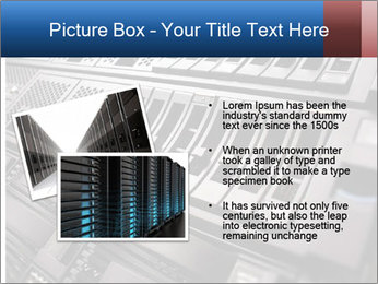 Net System PowerPoint Template - Slide 20