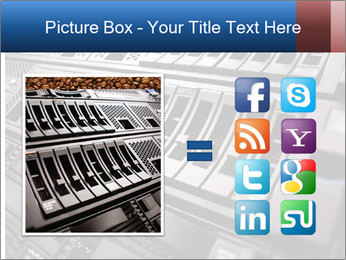 Net System PowerPoint Template - Slide 21