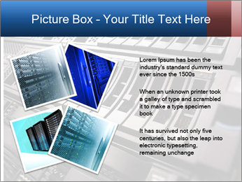 Net System PowerPoint Template - Slide 23