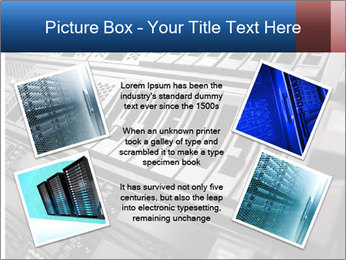 Net System PowerPoint Template - Slide 24
