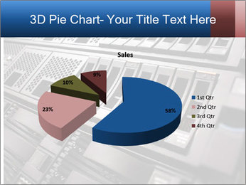 Net System PowerPoint Template - Slide 35