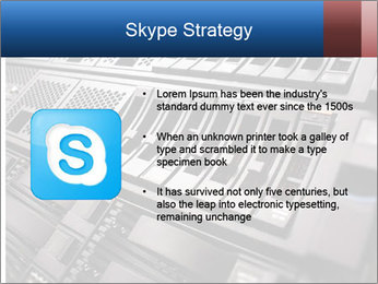 Net System PowerPoint Template - Slide 8