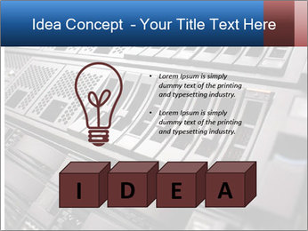 Net System PowerPoint Template - Slide 80
