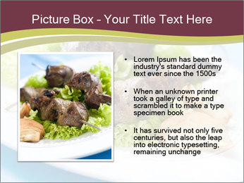 Kebab Dish PowerPoint Template - Slide 13