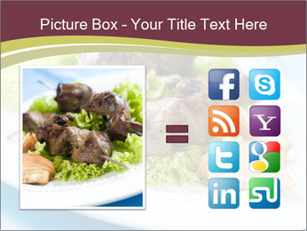 Kebab Dish PowerPoint Template - Slide 21