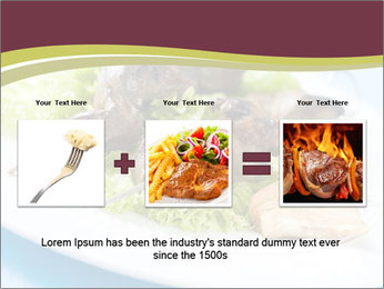 Kebab Dish PowerPoint Template - Slide 22