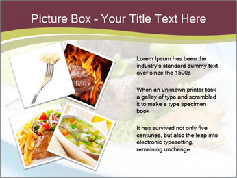 Kebab Dish PowerPoint Template - Slide 23