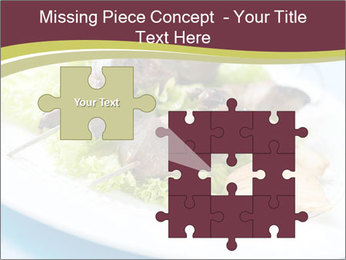 Kebab Dish PowerPoint Template - Slide 45
