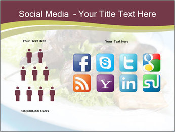 Kebab Dish PowerPoint Template - Slide 5