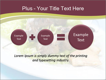 Kebab Dish PowerPoint Template - Slide 75