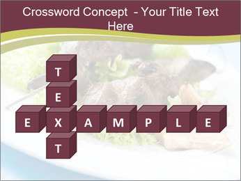 Kebab Dish PowerPoint Template - Slide 82