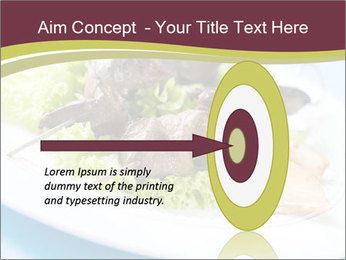 Kebab Dish PowerPoint Template - Slide 83