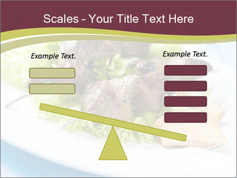 Kebab Dish PowerPoint Template - Slide 89