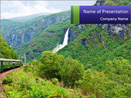 Nature In Scandinavia PowerPoint Templates