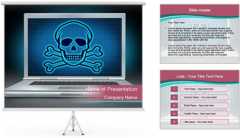 PC Virus PowerPoint Template