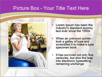 Sporty Senior Woman PowerPoint Template - Slide 13