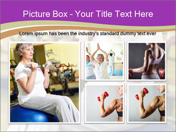 Sporty Senior Woman PowerPoint Template - Slide 19