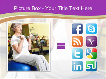 Sporty Senior Woman PowerPoint Template - Slide 21
