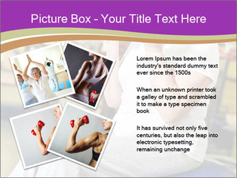 Sporty Senior Woman PowerPoint Template - Slide 23
