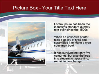 Private Plane PowerPoint Template - Slide 13