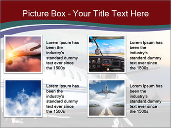 Private Plane PowerPoint Template - Slide 14