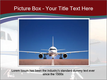 Private Plane PowerPoint Template - Slide 16