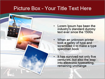Private Plane PowerPoint Template - Slide 17