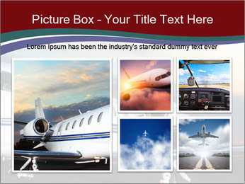 Private Plane PowerPoint Template - Slide 19