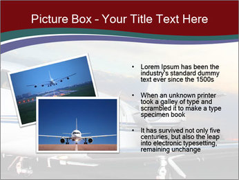Private Plane PowerPoint Template - Slide 20