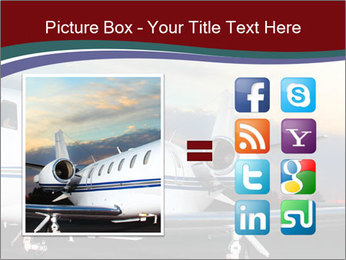 Private Plane PowerPoint Template - Slide 21