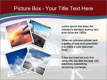 Private Plane PowerPoint Template - Slide 23
