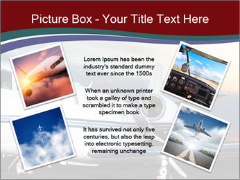 Private Plane PowerPoint Template - Slide 24