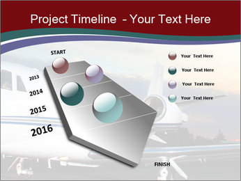 Private Plane PowerPoint Template - Slide 26