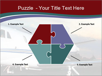 Private Plane PowerPoint Template - Slide 40