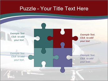 Private Plane PowerPoint Template - Slide 43