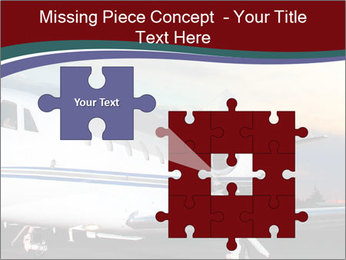 Private Plane PowerPoint Template - Slide 45