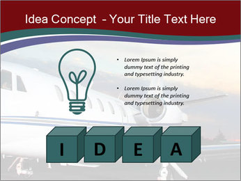 Private Plane PowerPoint Template - Slide 80