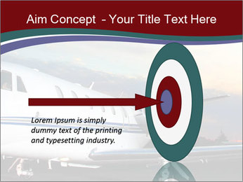 Private Plane PowerPoint Template - Slide 83