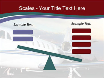 Private Plane PowerPoint Template - Slide 89