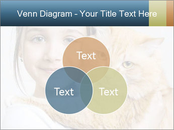 Young Girl With Red Cat PowerPoint Template - Slide 33