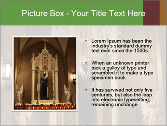 Candles In Christian Church PowerPoint Templates - Slide 13