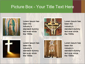 Candles In Christian Church PowerPoint Templates - Slide 14