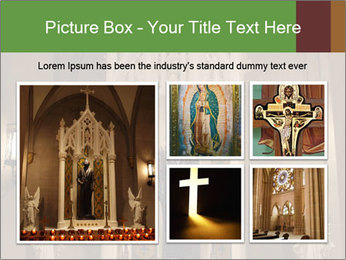 Candles In Christian Church PowerPoint Templates - Slide 19