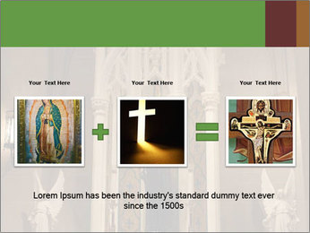 Candles In Christian Church PowerPoint Templates - Slide 22